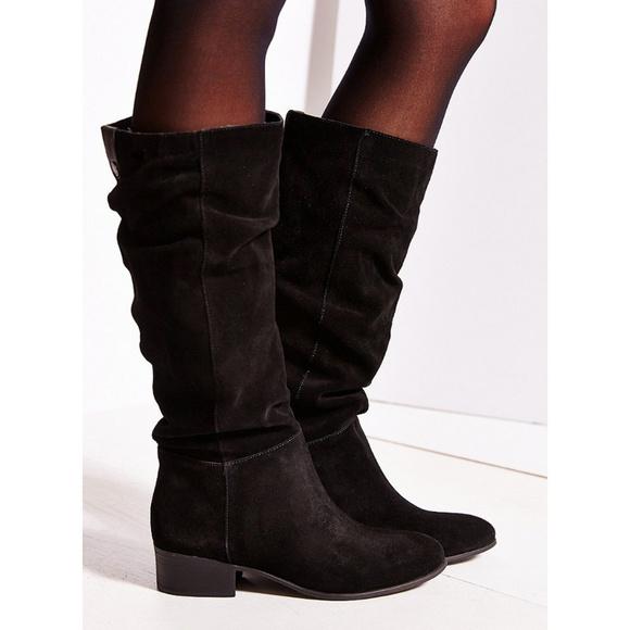 a8d3ccf1aec Steve Madden Pondrosa Black Suede Tall Boots   9. M 5b4bcc7b2beb79cb615d2b3b